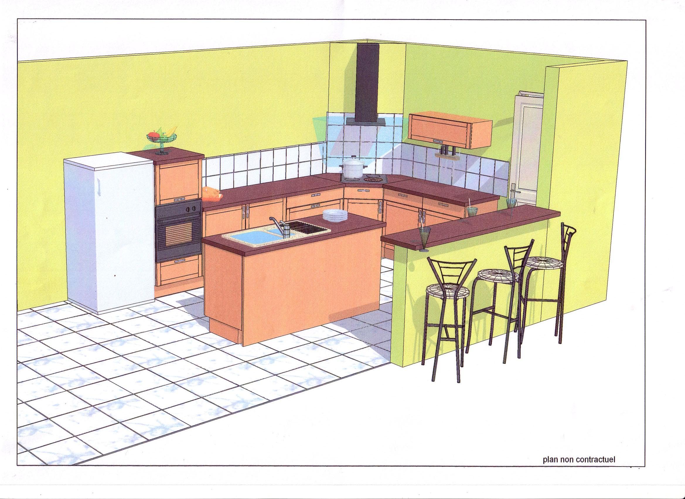 Notre projet chez Cuisinella